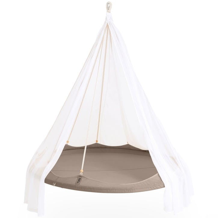 TiiPii Nomad Hanging Bed - 1.5m; Taupe