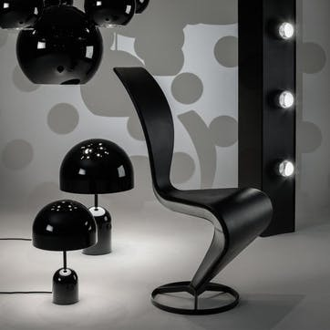 Bell Table Lamp, Black