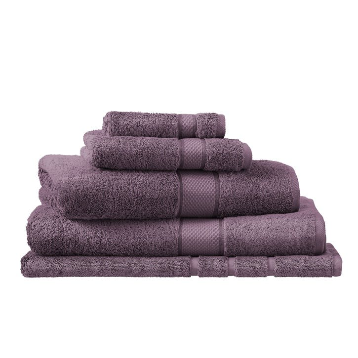 Luxury Egyptian Aubergine Bath Towel