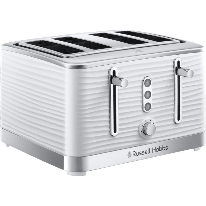 Inspire 4 Slice Toaster; White