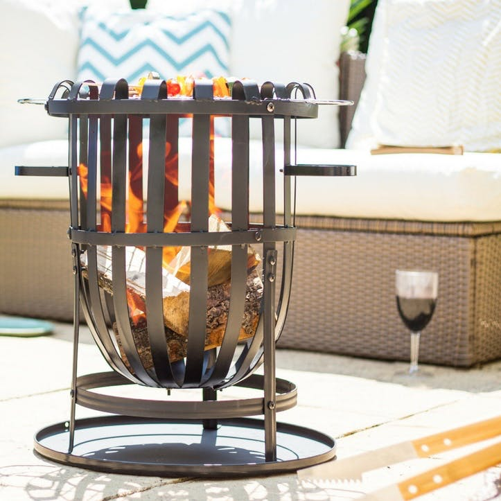 Vancouver Firebasket with Grill