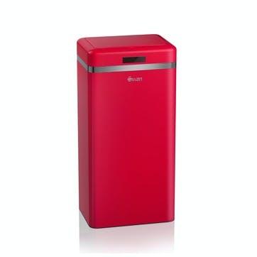 Retro Sensor Bin, Red