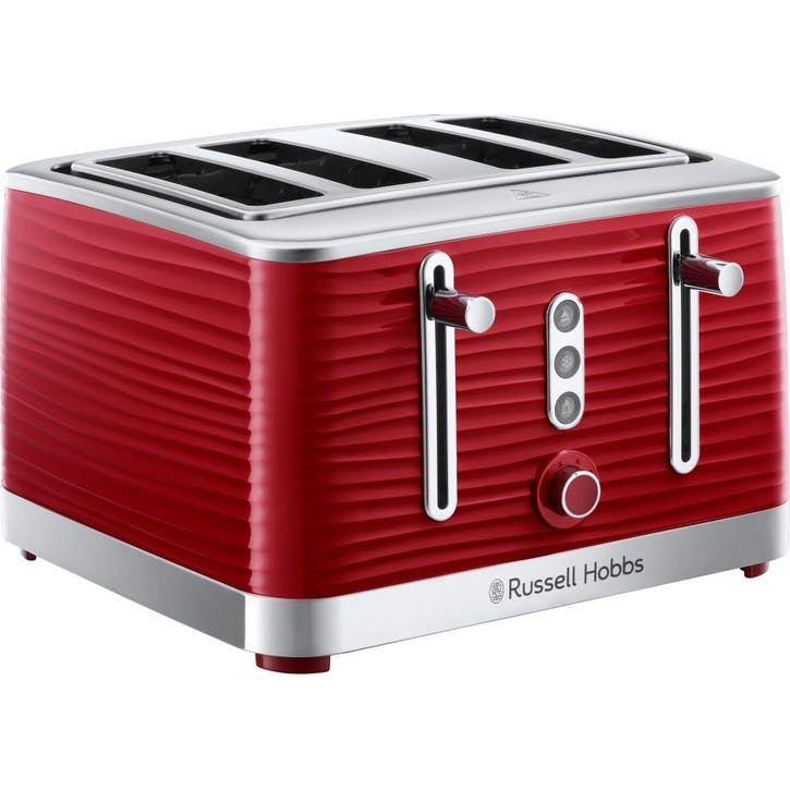 Inspire 4 Slice Toaster; Red