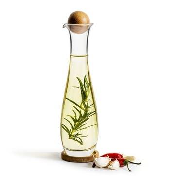 Oil Bottle With Oak Stopper, 450ml
