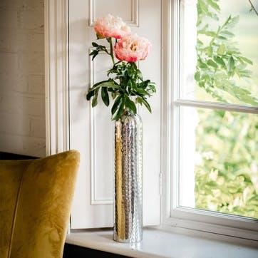 Silver Tulip Vase - Medium