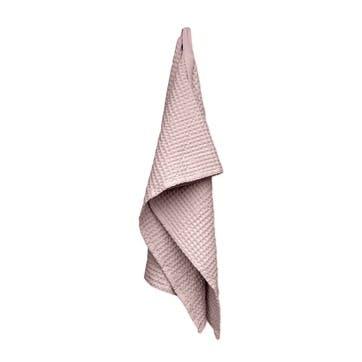 Waffle Bath Towel, L150 x W50cm, Pale Rose