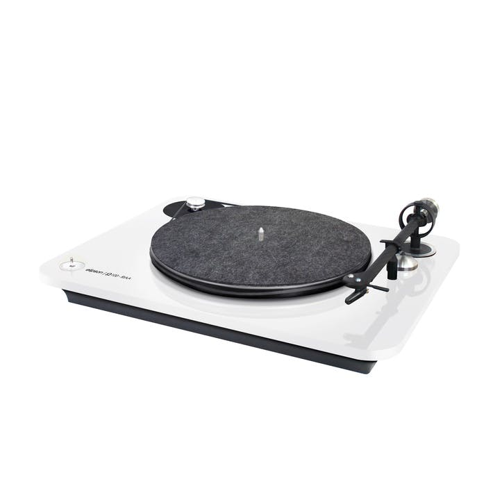 Omega 100 RIAA Turntable, White