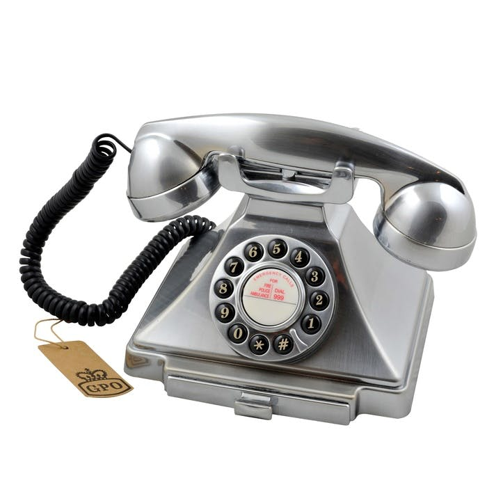 Carrington Telephone; Chrome