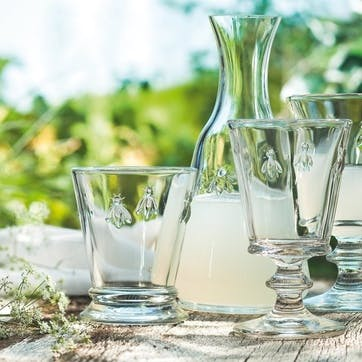 Bee, Large Stemmed Glasses, Set of 6, 350ml, Clear