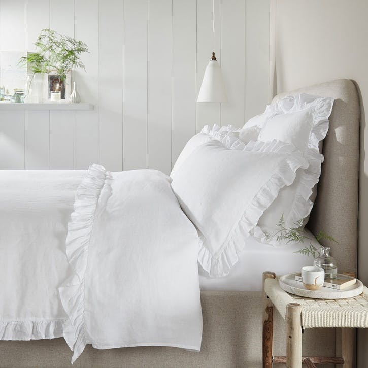 Kara Hemp Linen, Double Duvet Cover