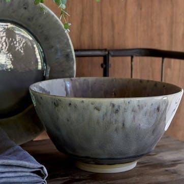 Madeira Grey Serving Bowl