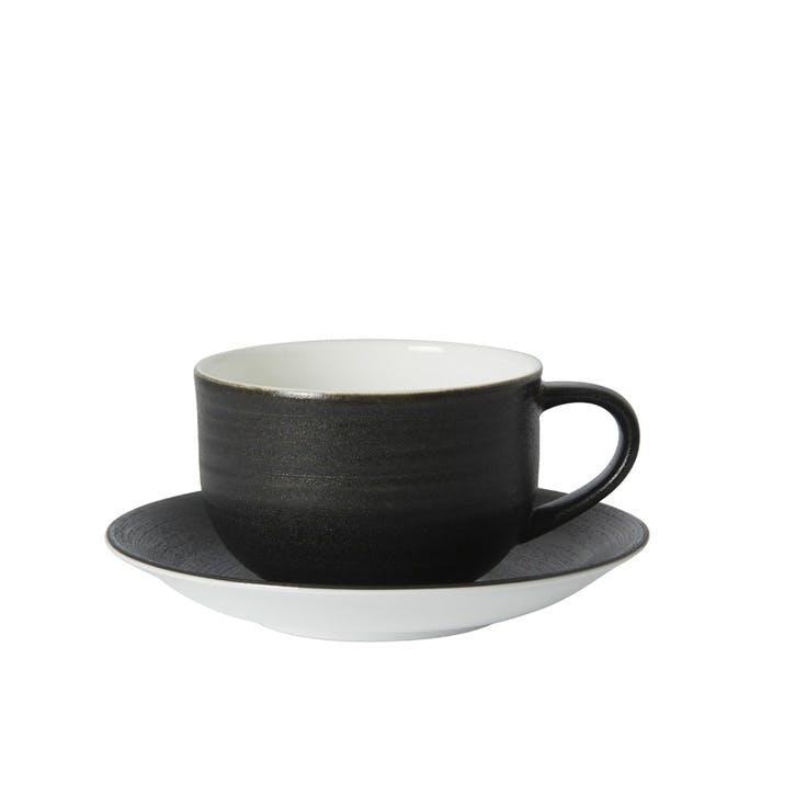 Studio Glaze Urban Tea Cup - 12oz; Midnight