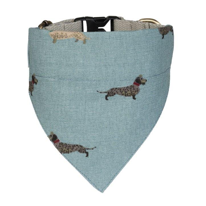 'Dachshund' Neckerchief Collar - Small