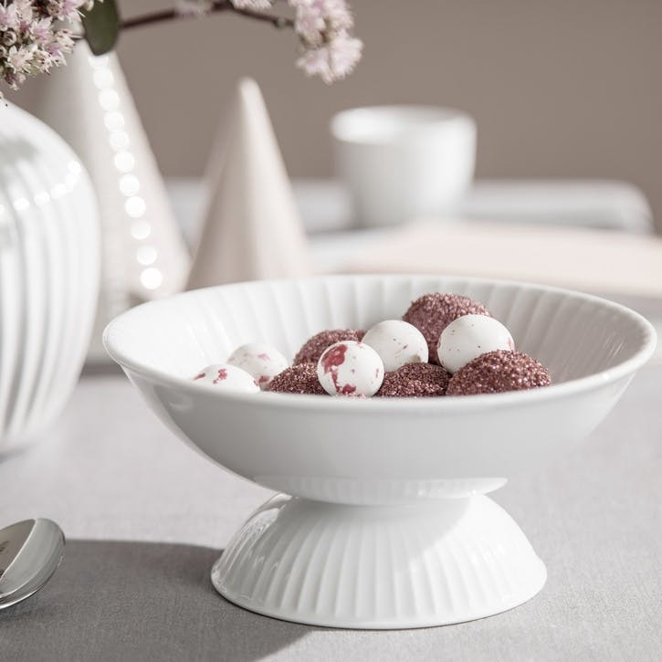 Hammershøi Bowl on Stand, White