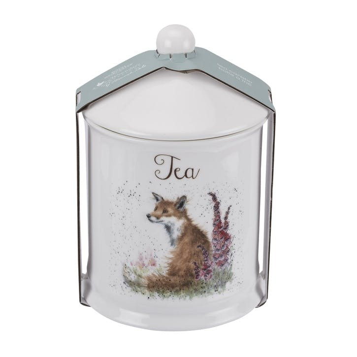 Wrendale Tea Canister; Fox