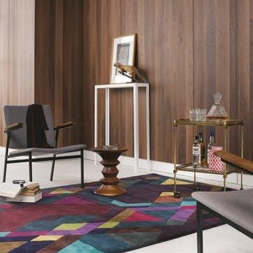 Mosaic, Rug, 170 x 240cm, Deep Purple