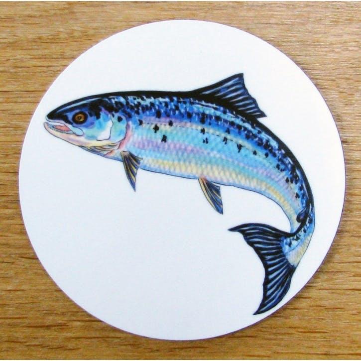 Salmon Coaster - 10cm