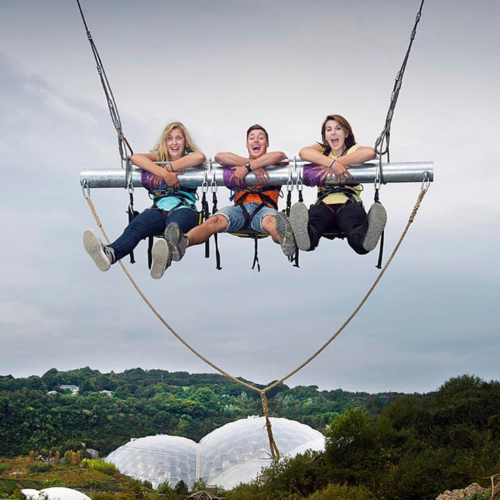 Hangloose @ Eden Project For Two, 3 Activities