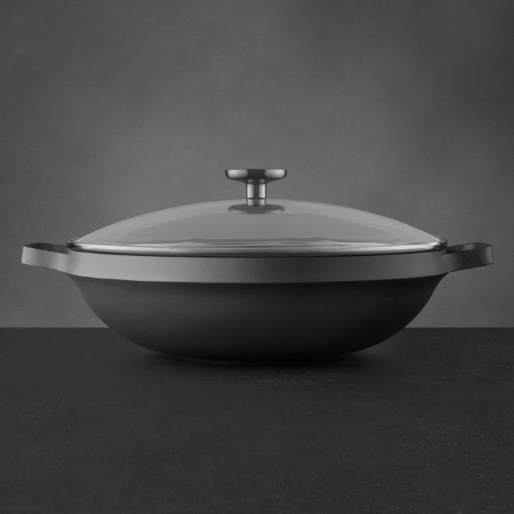 Gem Covered Chinese Wok, 32cm