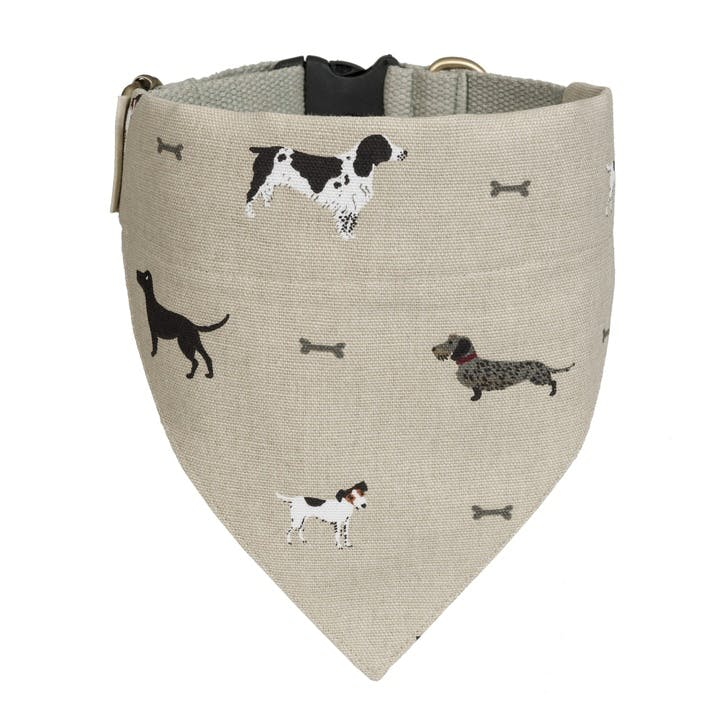 'Woof' Neckerchief Collar - Large