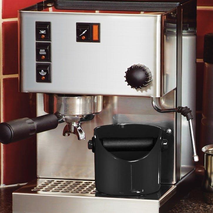 Grindenstein Coffee Knock Box, Black