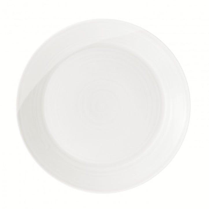 1815 Dinner Plate, White