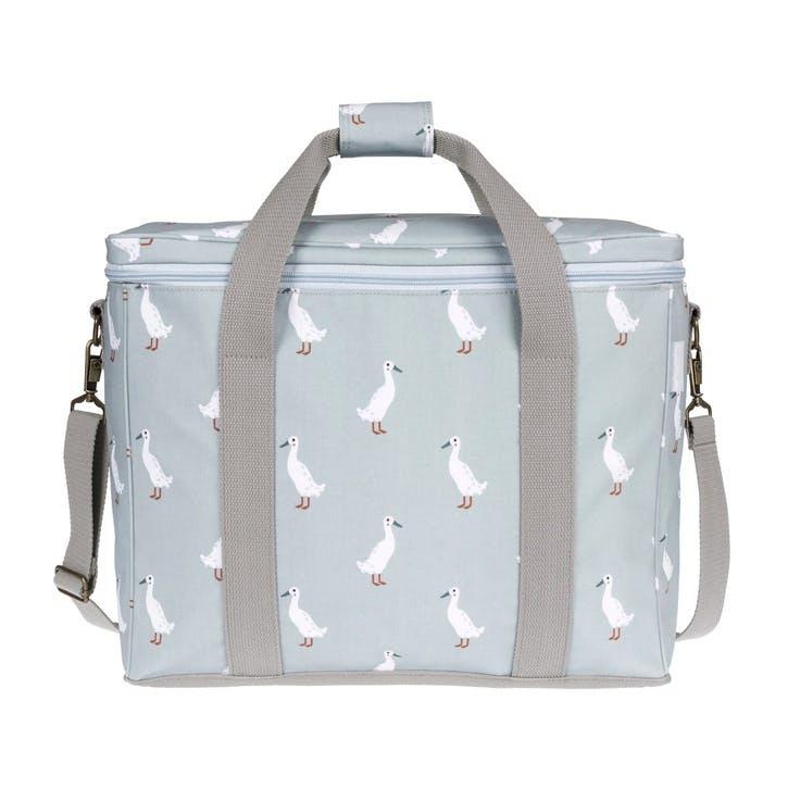 'Runner Duck' Oilcloth Picnic Bag
