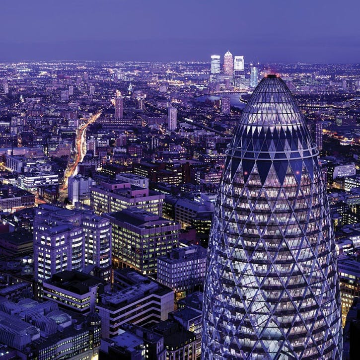 Cocktails for Two at London's Iconic Gherkin