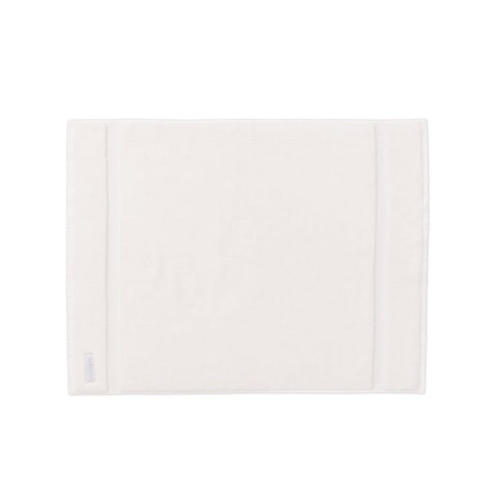 Eden Organic Cotton Ivory Bath Mat
