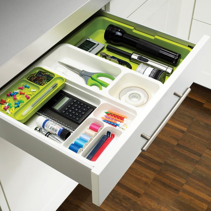 DrawerStore Draw Organiser, Green