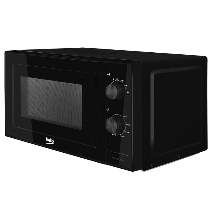 Compact Microwave - 20L; Black