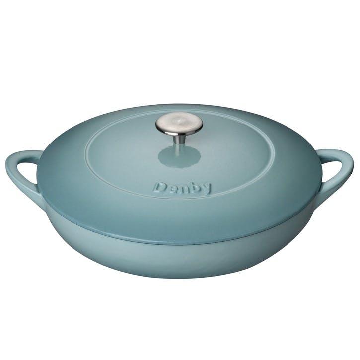 Cast Iron Pavilion Shallow Casserole Dish, 30cm