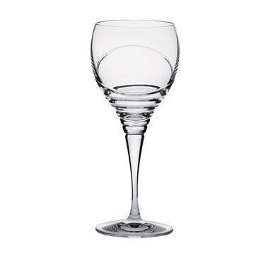 Saturn Small Crystal Wine Glasses, Set of 2