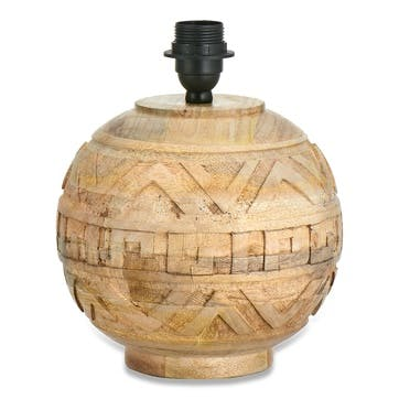 Ruanda Mango Wood Lamp - Small