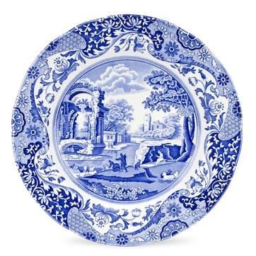 Blue Italian Plate, Set of Four - 27cm