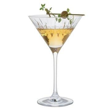 Limelight Mitre Martini Glass, Set of 2