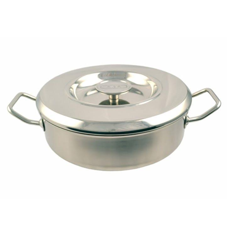 Stainless Steel Saute Casserole