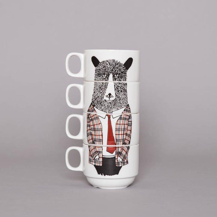 'Mr Geography Teacher' Coffee Cup Set