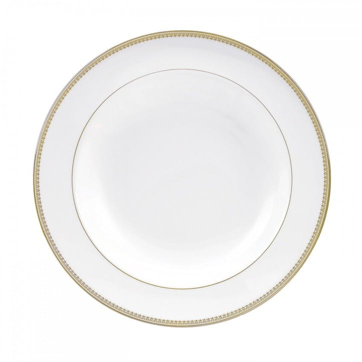 Lace Gold Soup Plate