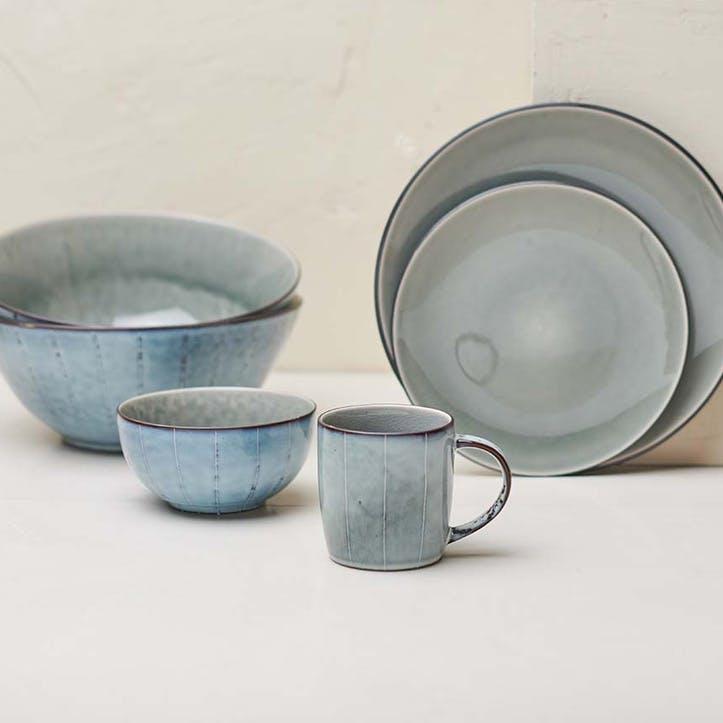 Bao Dinner Plate; Grey