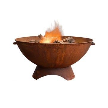 Artisan, Outdoor Firebowl, Rust