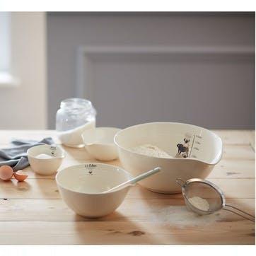 Pug Nesting Bowl, Set of 3