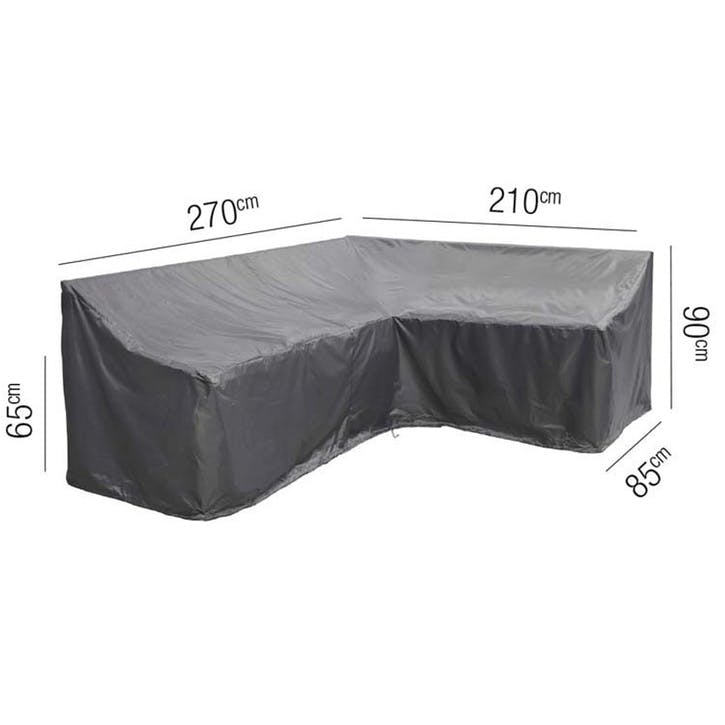 Lounge Set Aerocover Long Left - 270x210x85x65x90cm