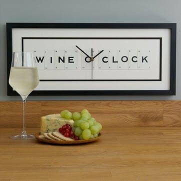'Wine O'Clock' Clock