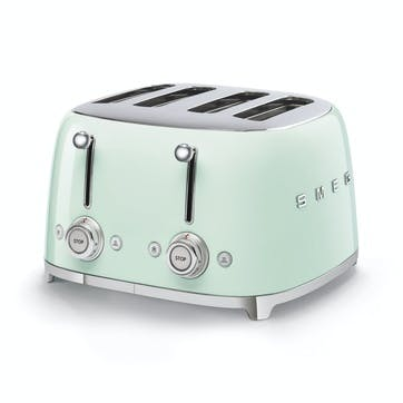 4 By 4 Toaster, Pastel Green