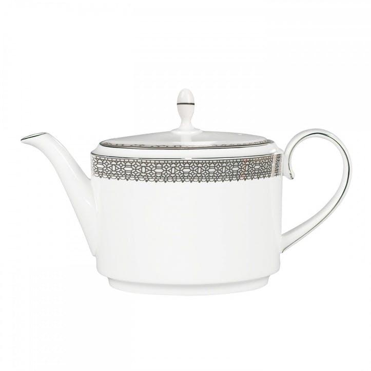 Lace Platinum Teapot