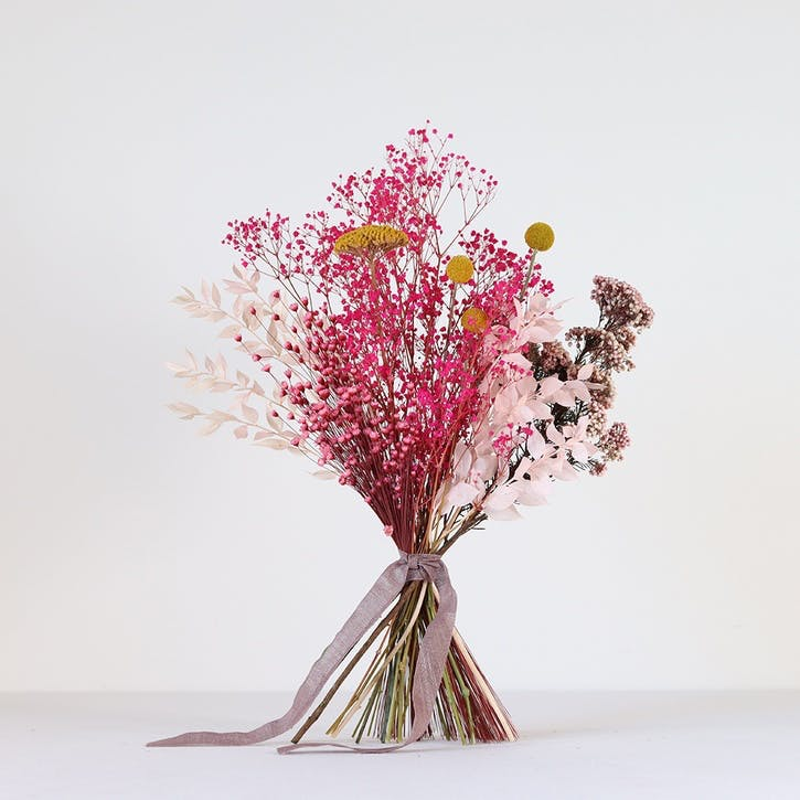 Hand-tied Medium Bouquet, Pink