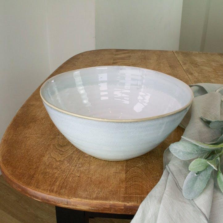 Everest Stoneware Serving Bowl, Blue