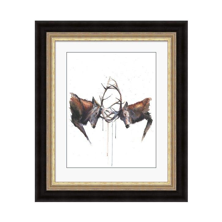 Sarah Stokes Headstrong Framed Print, 66 x 56cm