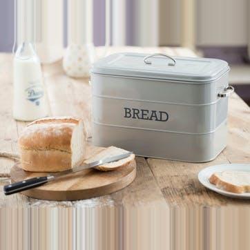 Living Nostalgia Bread Bin in French Grey